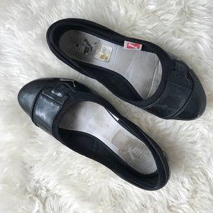 PUMA Flats Sneakers Black Sz 8