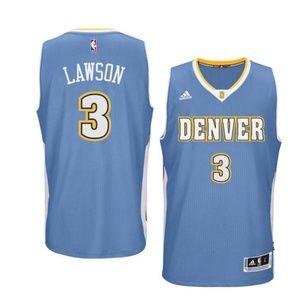 Denver Nuggets Ty Lawson Jersey sz L