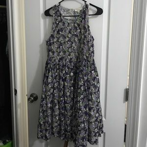 Floral Purple Dress - Never Worn!