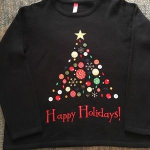 Sweaters - Embellished Christmas Holiday Sweater Size XL