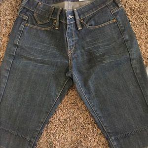 Levi's shorts, size 0
