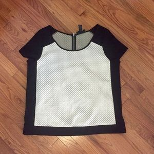 Never worn-short sleeve sweater-type shirt