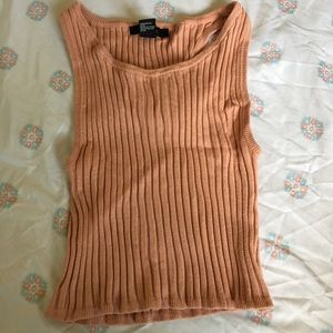 Knit crop top forever 21