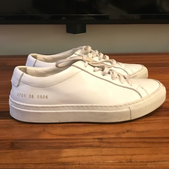 ff5f2aa2fccc Common Projects Shoes - Common Projects - Leather Original Achilles Low