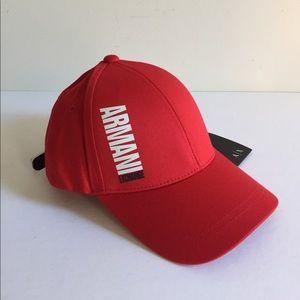 A/X Armani Exchange Baseball Cap O/S NWT