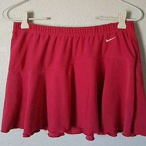 Nike pink skirt size medium