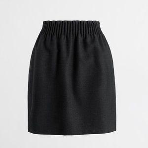 JCrew black Sidewalk Skirt