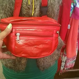 Red Fannypack