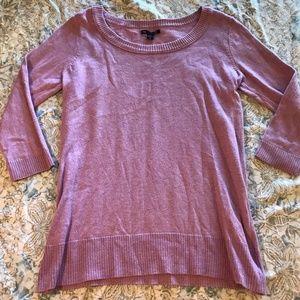 Gap Lavender Purple Long Sleeve Pullover Sweater