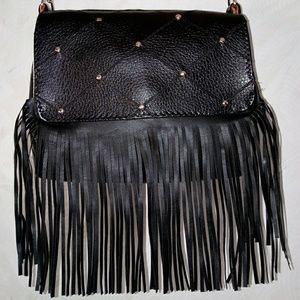 Handbags - Handcrafted Fringe Purse-Hip Bag