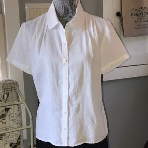 Linen blouse by Talbots