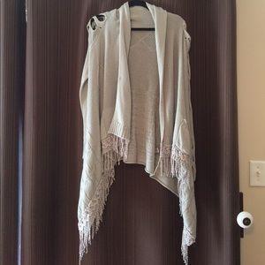 Unique Gray Sweater - Size L