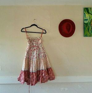 Free people bohemian flower dress