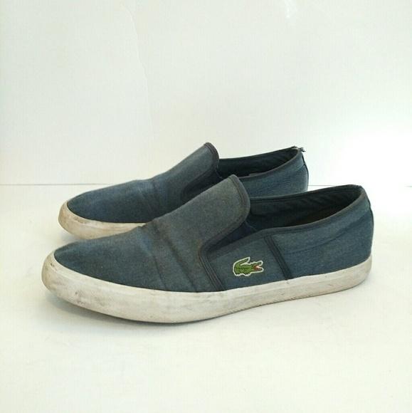 dfacbd0d8 Lacoste Other - Lacoste Men s Slip On Sneakers Size 11