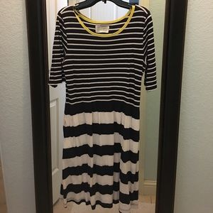 Anthropologie comfy dress with pockets