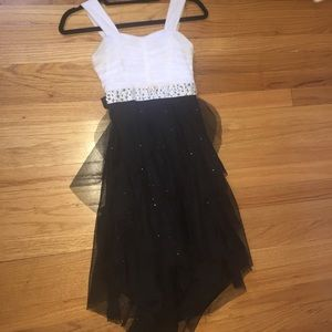 Jc penny size 10 black and white dress
