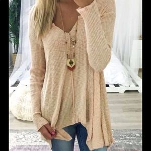 Cute soft long sleeve ladies top L available soon