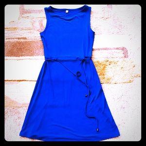 Uniqlo cobalt Blue Dress