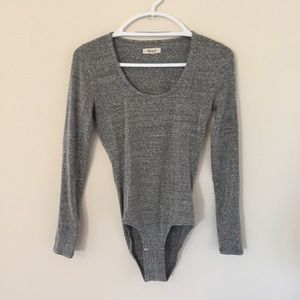 Ash Grey Madewell Bodysuit