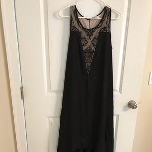 MATERNITY black evening dress