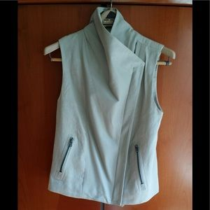 VINCE MOTO WEST Combination of cotton& leather XS