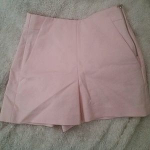 Zara pink shorts xs-s