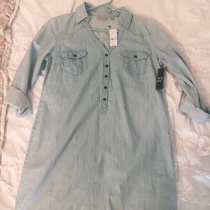 Denim NY&C Shift Dress