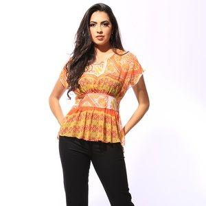 Beautiful chiffon Silk blouse
