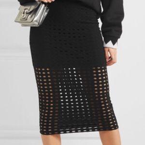 T by Alexander wang jacquard skirt