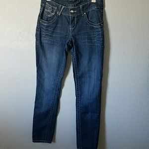 Women's size 4 embellished jeans