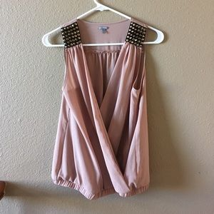 Charlotte Russe Twist Front Top