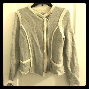 Asymmetrical Zip Up Sweater