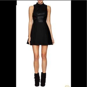 BCBGGeneration Mockneck Black Dress