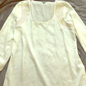 Charlotte Russe 3/4 sleeve shirt with sequins