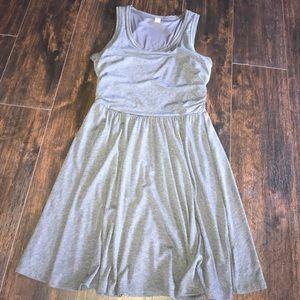 Grey sun dress