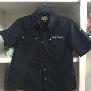 Harley-Davidson ladies SS cotton shirt