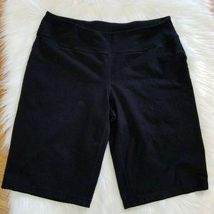 Zella athletic yoga shorts, Bermuda length