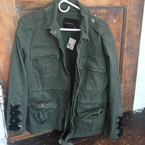 Army Green Jacket NWT