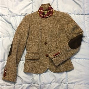 j.crew tweed blazer jacket