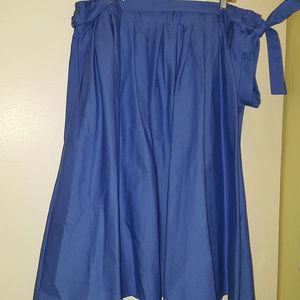 Eloquii Side Button Circle Skirt