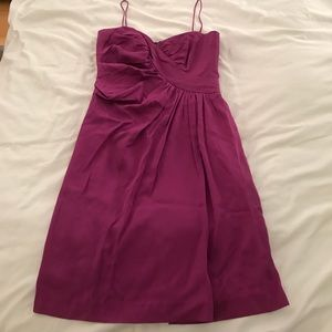 Magenta holiday dress