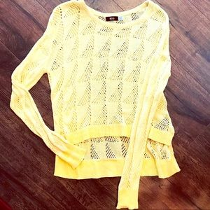 Urban Outfitters Poppy Yellow Sweater