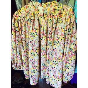 H&M Chic Floral Blouse