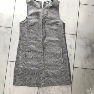 NWOT Festive silver dress BB Dakota