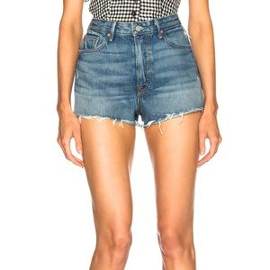 GRLFRND Cindy high rise shorts