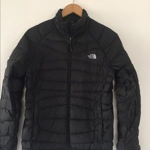 The north face quilted puffer 800 down jacket