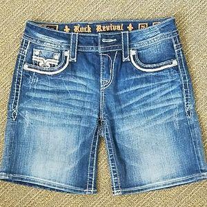 ROCK REVIVAL Bermuda shorts