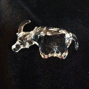 Swarovski crystal zodiac Ox