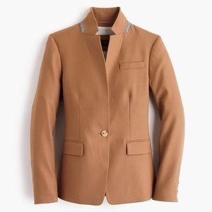 J Crew • Regent Wool Blazer in Camel