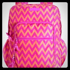 Vera Bradley Lighten up grande ziggy zags backpack